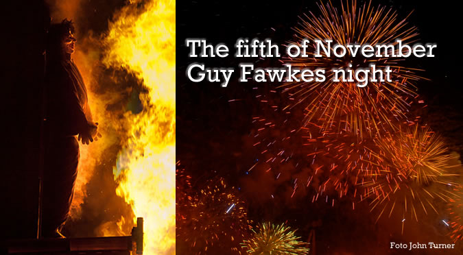 Guy Fawkes night o Bonfire night – la noche de las hogueras