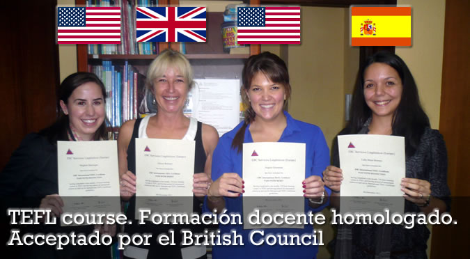 TEFL course Madrid | Homologado | Acceptado por el British Council